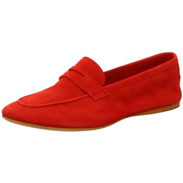 Confort Shoes Klassischer Slipper rot