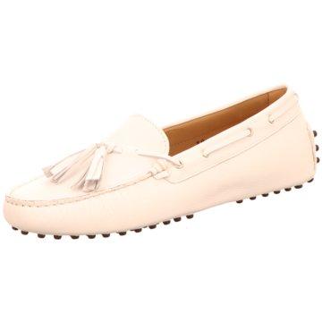 Confort Shoes Mokassin Slipper weiß