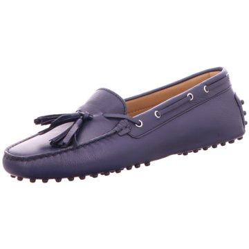Confort Shoes Mokassin Slipper blau