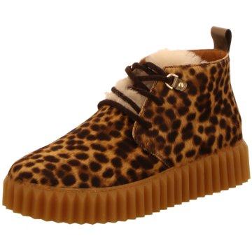 Voile Blanche Sneaker High braun