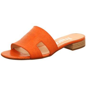 Franca di Beggio Klassische Pantolette orange