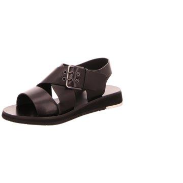 Heschung Sandale schwarz