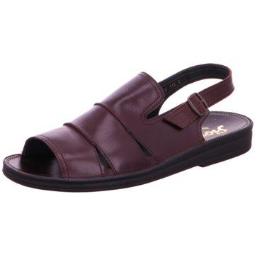 Sioux Komfort Schuh rot
