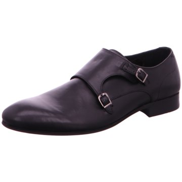 Hudson Business Slipper schwarz