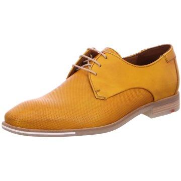Lloyd Eleganter Schnürschuh gelb