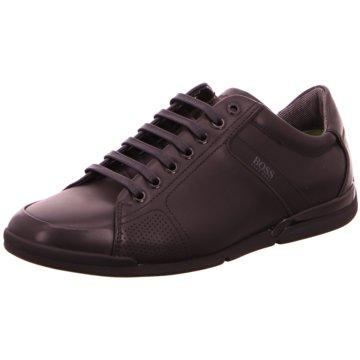 Hugo Boss Komfort Schnürschuh schwarz