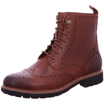 Clarks Boots Collection braun