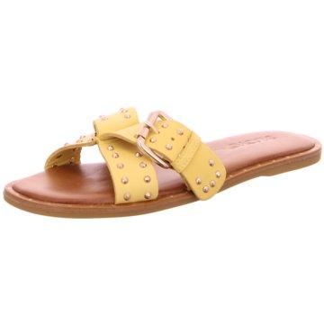 Inuovo Klassische Pantolette gelb