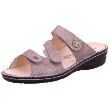 FinnComfort Komfort Pantolette grau
