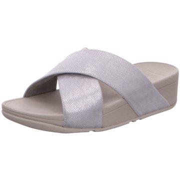 Fit Flop Komfort PantoletteLulu Cross silber