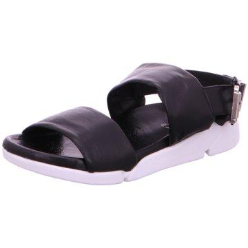 MACA Kitzbühel Komfort Sandale schwarz