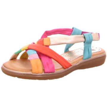 Marila Komfort Sandale rot