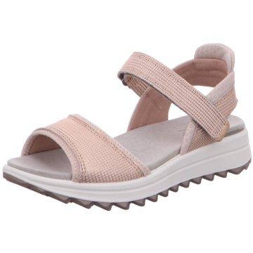 Legero Komfort Sandale rosa