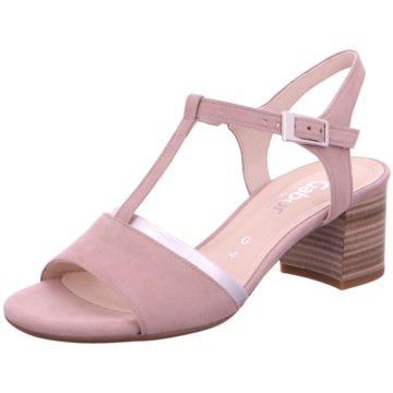 Gabor comfort Komfort Sandale rosa