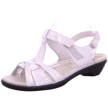 Semler Komfort Sandale weiß
