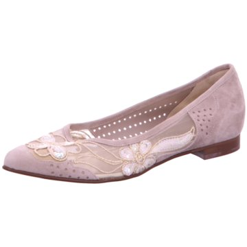 Brunella Flacher Pumps beige