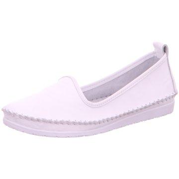 Andrea Conti Komfort Slipper weiß