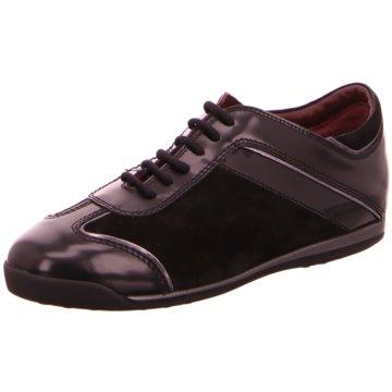 La Cabala Komfort Schnürschuh schwarz