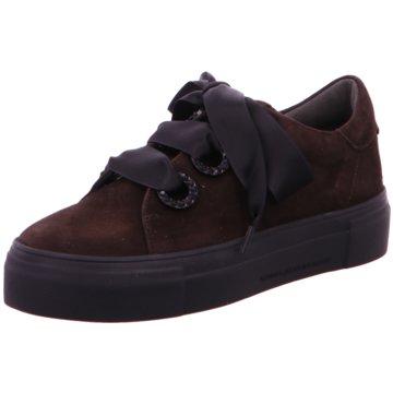 Kennel + Schmenger Plateau Sneaker braun