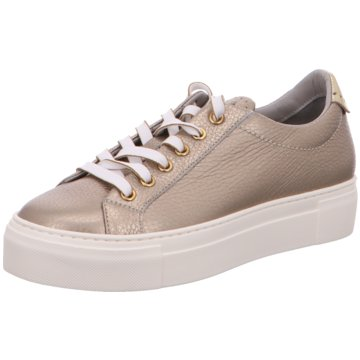 Maripé Plateau Sneaker gold