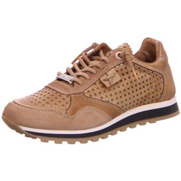 Cetti Sportlicher SchnürschuhSneaker beige