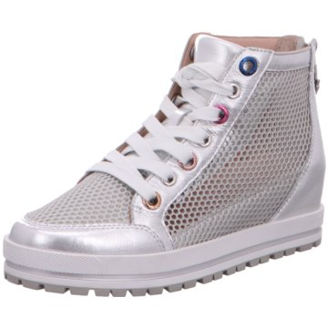 Marc Cain Sneaker Wedges silber