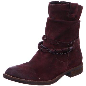 SPM Shoes & Boots Klassische Stiefelette rot