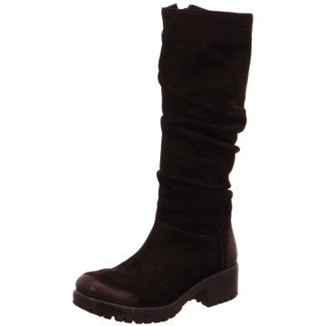 MACA Kitzbühel Klassischer Stiefel schwarz