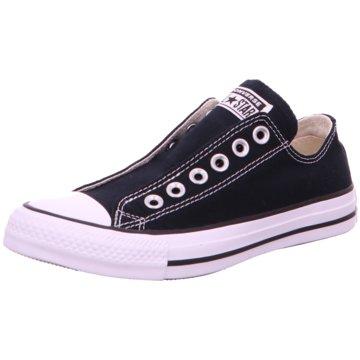 Converse Slipper schwarz