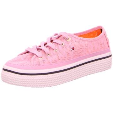 Tommy Hilfiger Plateau Sneaker rosa