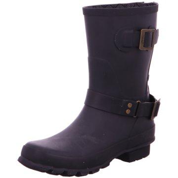 Joules Klassischer Stiefel schwarz