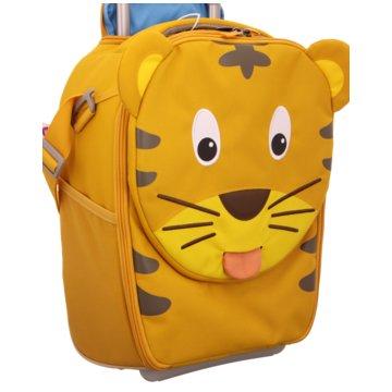 Kinderkoffer Tiger beige