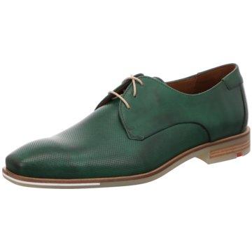 Lloyd Eleganter Schnürschuh grün