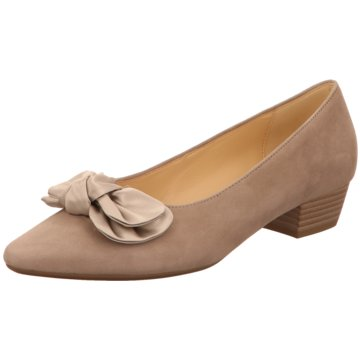 Gabor Flacher Pumps grau
