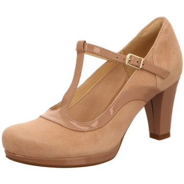 Clarks T-Steg PumpsChorus Pitch beige