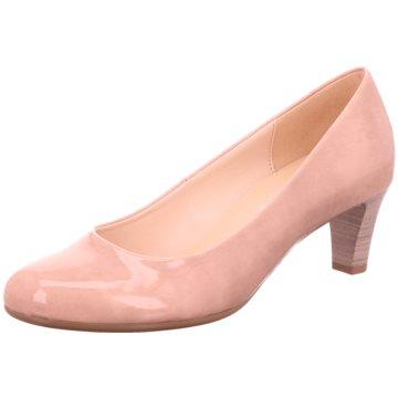 Gabor Flacher Pumps rosa