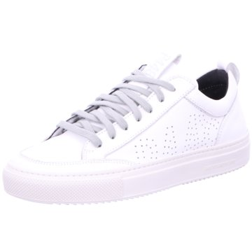 P448 Sneaker Low weiß