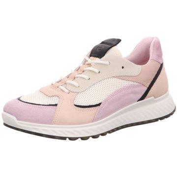 Ecco Sportlicher SchnürschuhECCO ST.1 W rosa