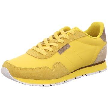 Woden Sneaker LowWoden gelb