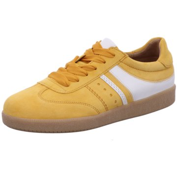 Gabor Sneaker Low gelb