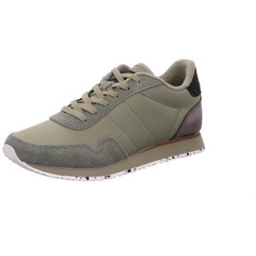 Woden Sneaker Low grün