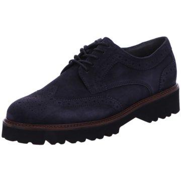 Gabor Klassischer SchnürschuhSneaker blau