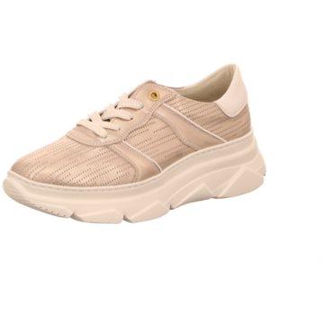 DL-Sport Plateau Sneaker silber