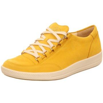 Ganter Komfort Schnürschuh gelb