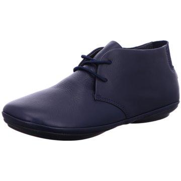 Camper Komfort Schnürschuh blau