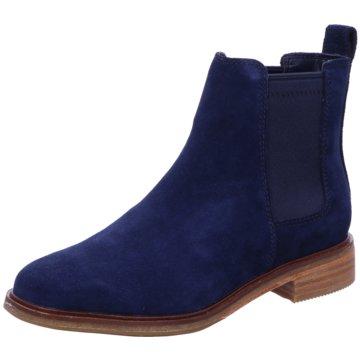 Clarks Chelsea Boot blau