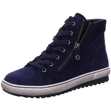 Gabor Komfort StiefeletteStiefel blau