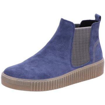 Gabor Chelsea BootChelsea-Bootie blau
