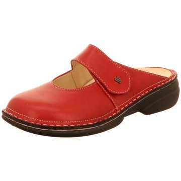 FinnComfort Komfort Pantolette rot