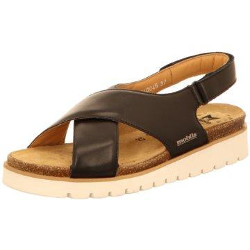Mobils Komfort Sandale schwarz